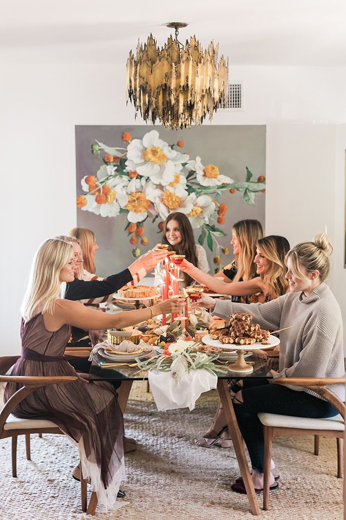 Inspired Idea: A Friendsgiving Brunch Tablescape