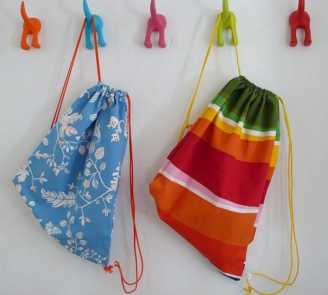 Comment fabriquer un sac dos pour cr er toiles et tissu - Comment faire un sac en tissu ...