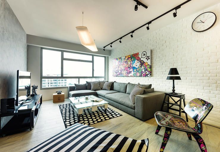 5 Things This Industrial Chic HDB Flat Does Differently Home
