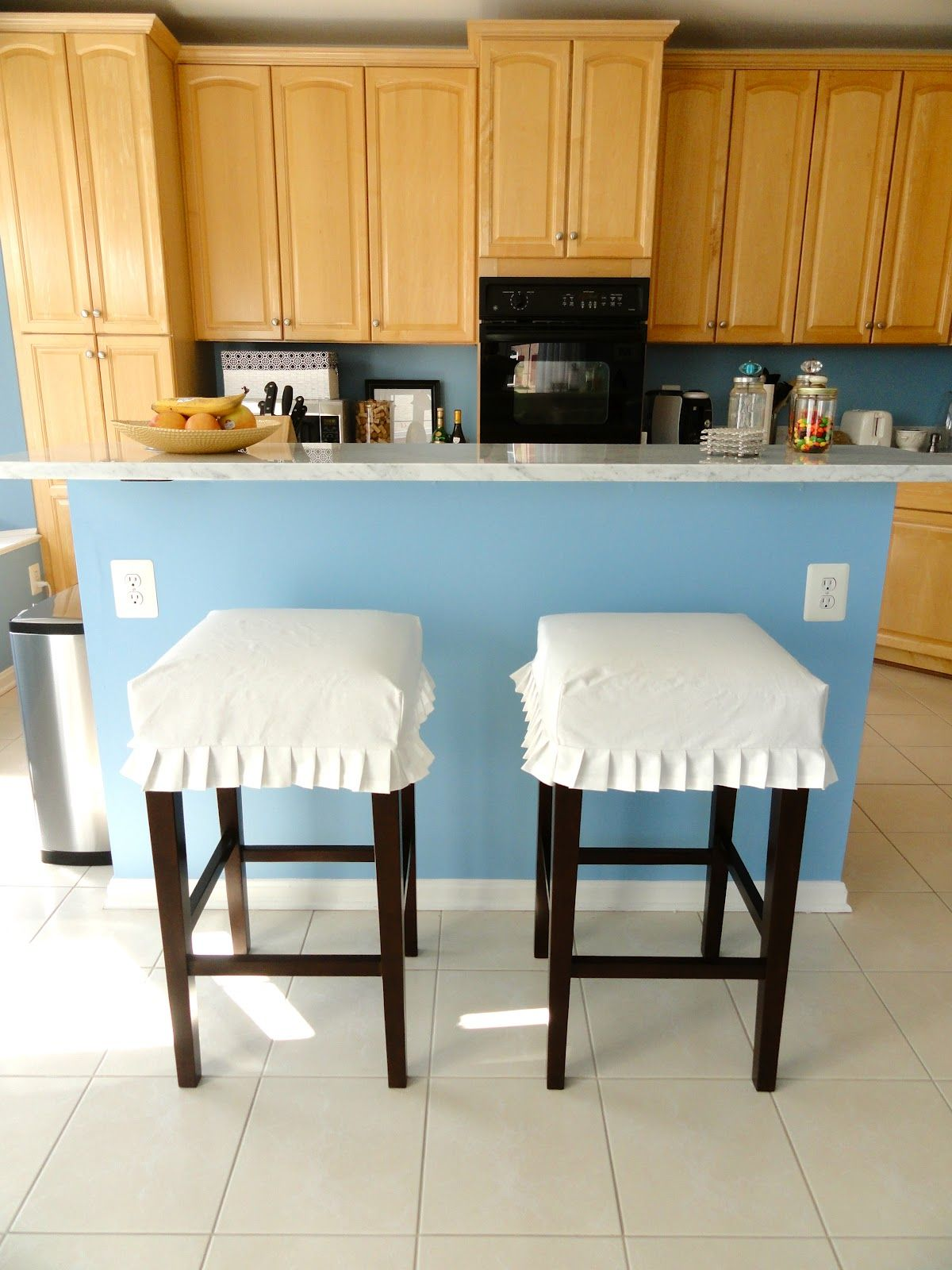 Rachel\'s Nest: Kitchen barstool slipcovers | Sewing | Pinterest ...