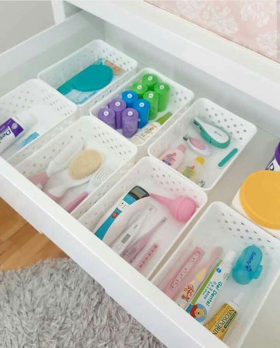Easy Nursery Organization Ideas and Drawer Organizers