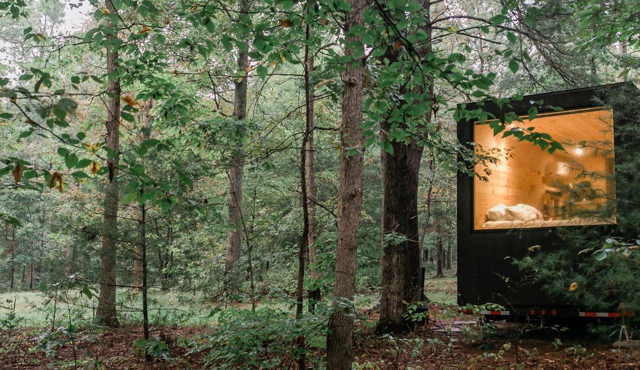 Getaway Modern Cabin Rentals Vacation Rentals Modern Cabin Cabin Rentals Outdoor Picnic Tables