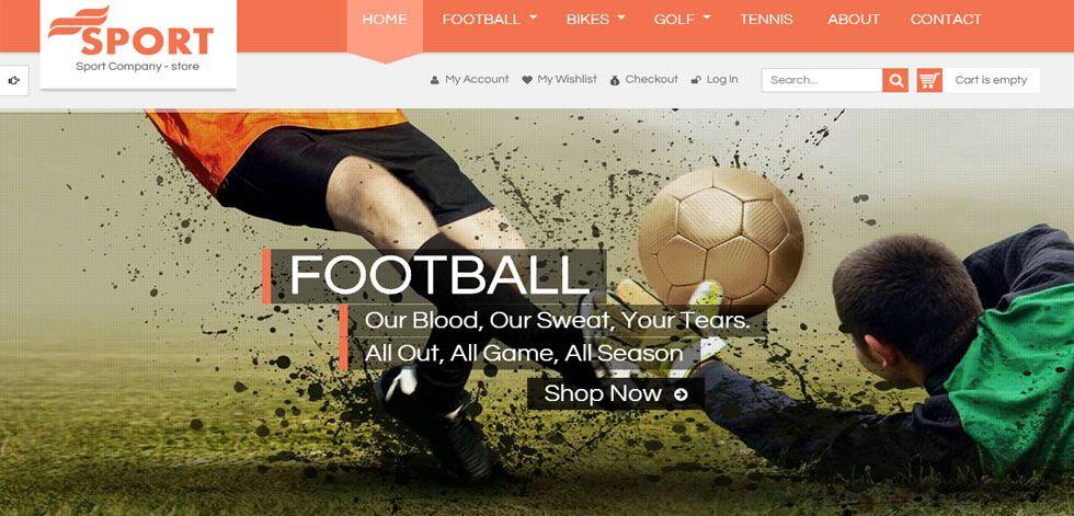 SM Sport is Premium full Responsive Magento Theme for sports store. Retina ready, Bootstrap, Mega Menu, Ajax Cart Pro.