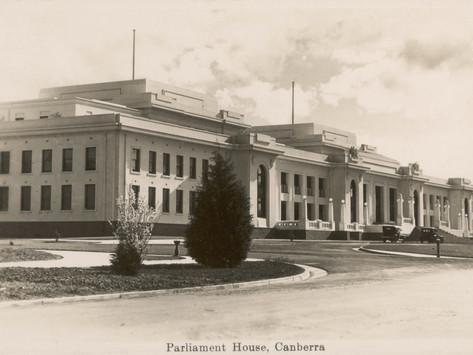 Parliament House, Canberra, Act, Australia Photographic Print