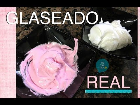 Como Hacer Glase Real Royal Icing Glass Super Blanco Youtube Royal Icing Butter Cream Icing