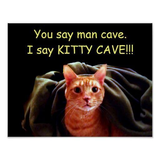 Kitty Cave Print