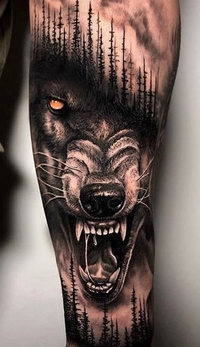 Photo of The 230 Best Wolf Tattoos on the Internet [Femininas e Masculinas] | TopTatu …