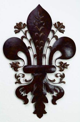 Google Image Result For Http Www Decor Medley Com Image Files Paris Decor Tole Fleur De Lis Wall Accent Jpg Paris Decor Fleur De Lis Metal Wall Sculpture
