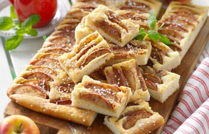 äppelkaka till många