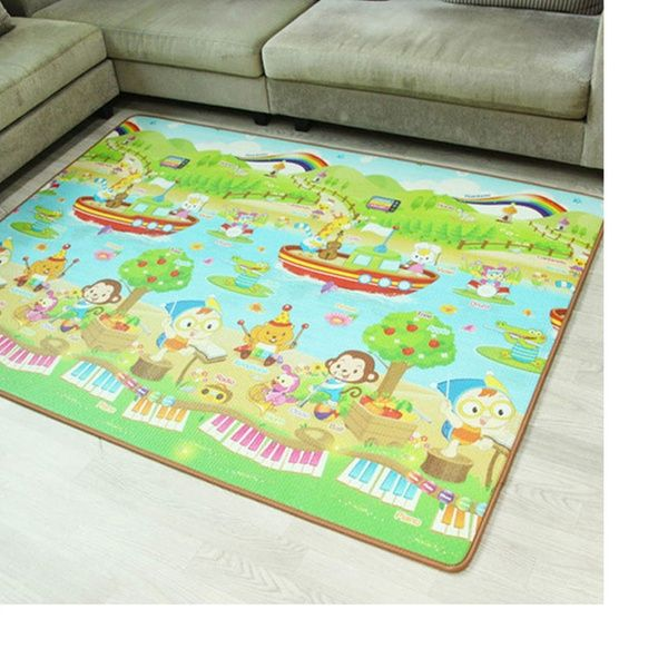 Waterproof Non-Toxic Musical Play Mat Crawling Baby Toy Learning Development