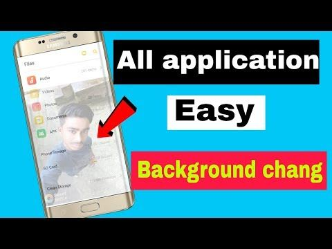 Change All App Background Touch One. Whatsapp background
