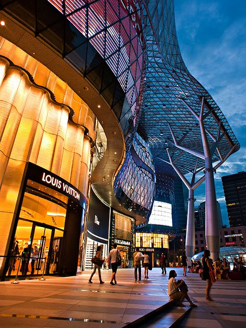 Ion Mall Orchard Road Singapore Mall Facade Shopping Mall Design Mall Design