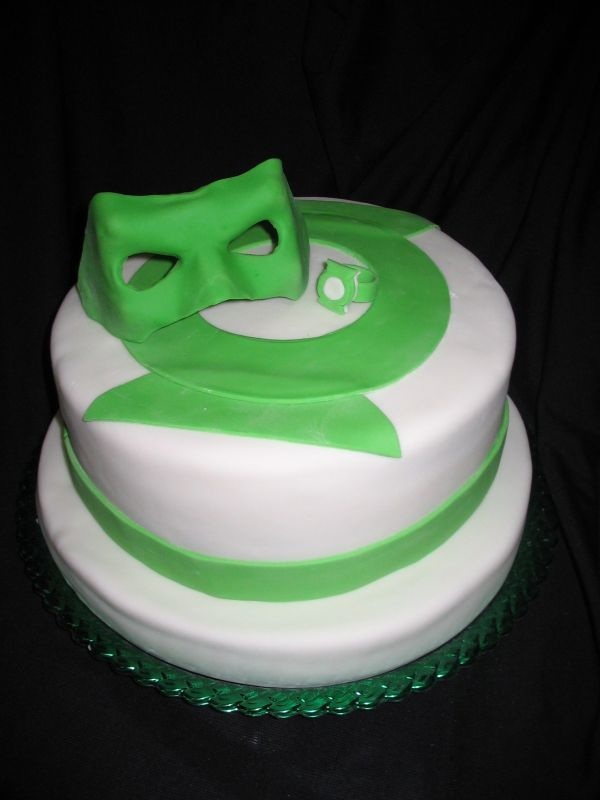 Green Lantern Birthday Cakes Pinterest Cake Green Lantern