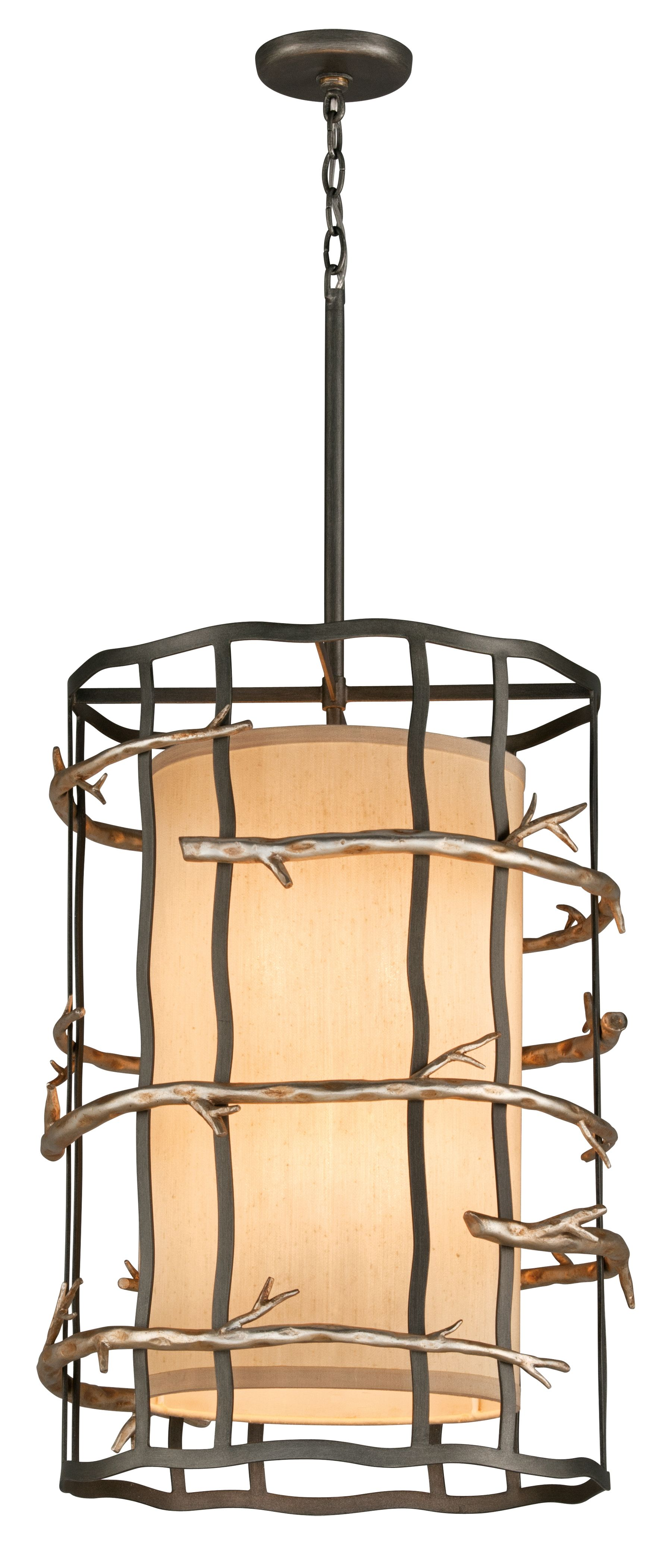troy lighting adirondack 6 light pendant entry small cool