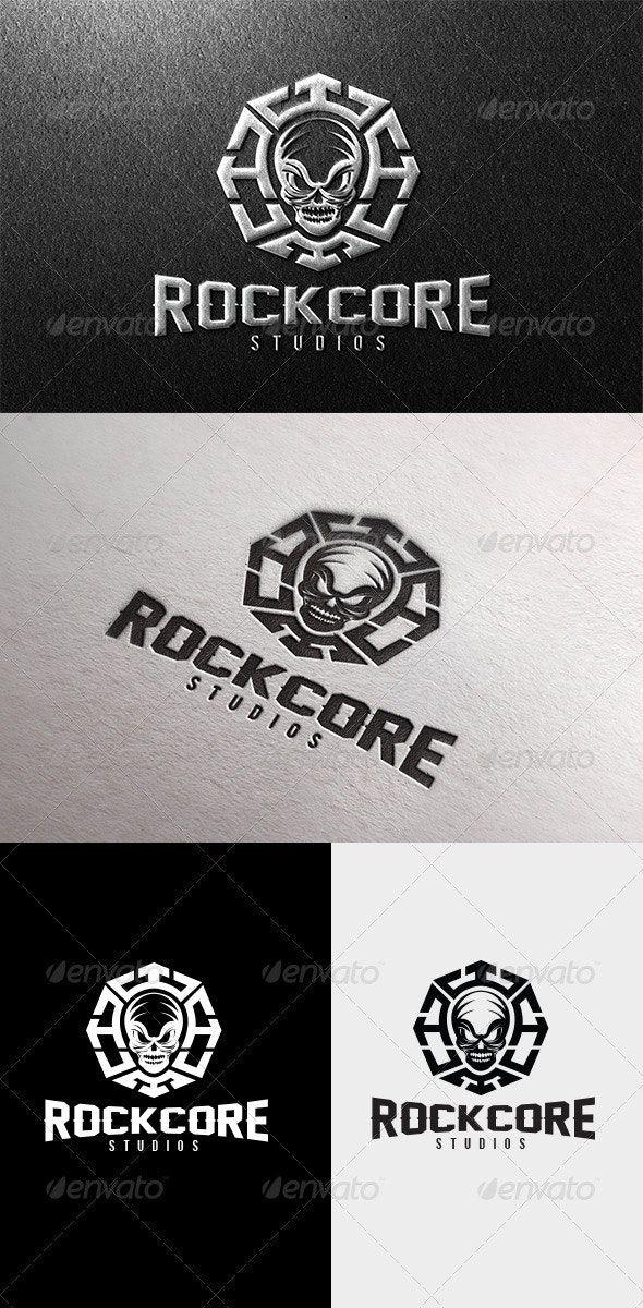 Rock Core Logo AD Rock, Aff, Core, Logo Logo