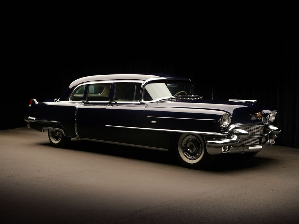 1956 Cadillac Fleetwood Seventy Five Sedan 195556 Limousines 1955 Engine