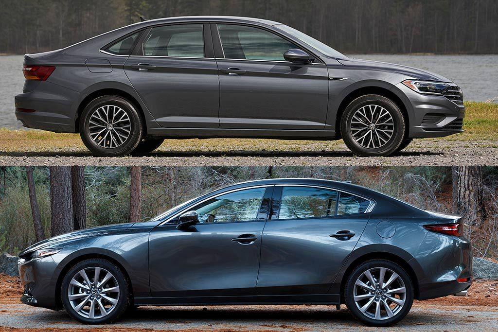 2019 Volkswagen Jetta Vs 2019 Mazda3 Sedan Which Is Better Volkswagen Jetta Mazda 3 Sedan Volkswagen