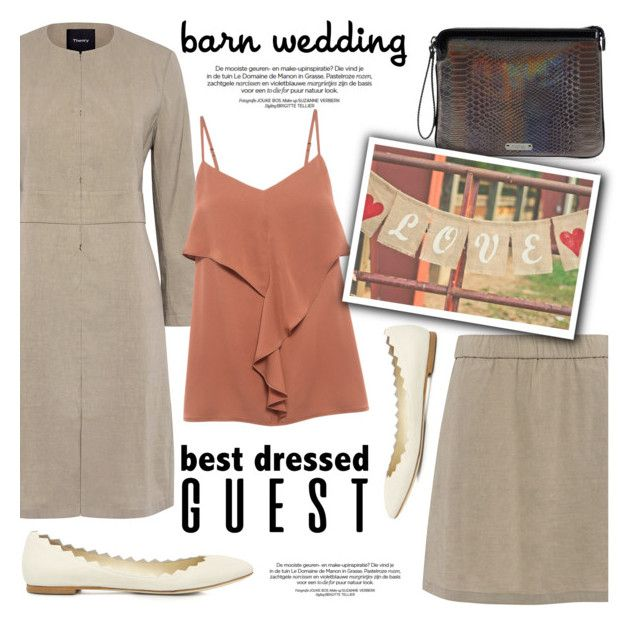 """""""Best Dressed Guest: Barn Weddings"""" by ifchic ❤ liked on Polyvore featuring Mohzy, contestentry, bestdressedguest, barnwedding and ifchic"""