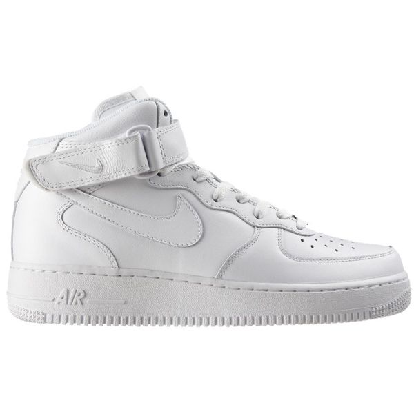 nike air force 1 mid 06 white crown