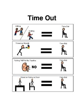 FREE Time Out Chart   Sign
