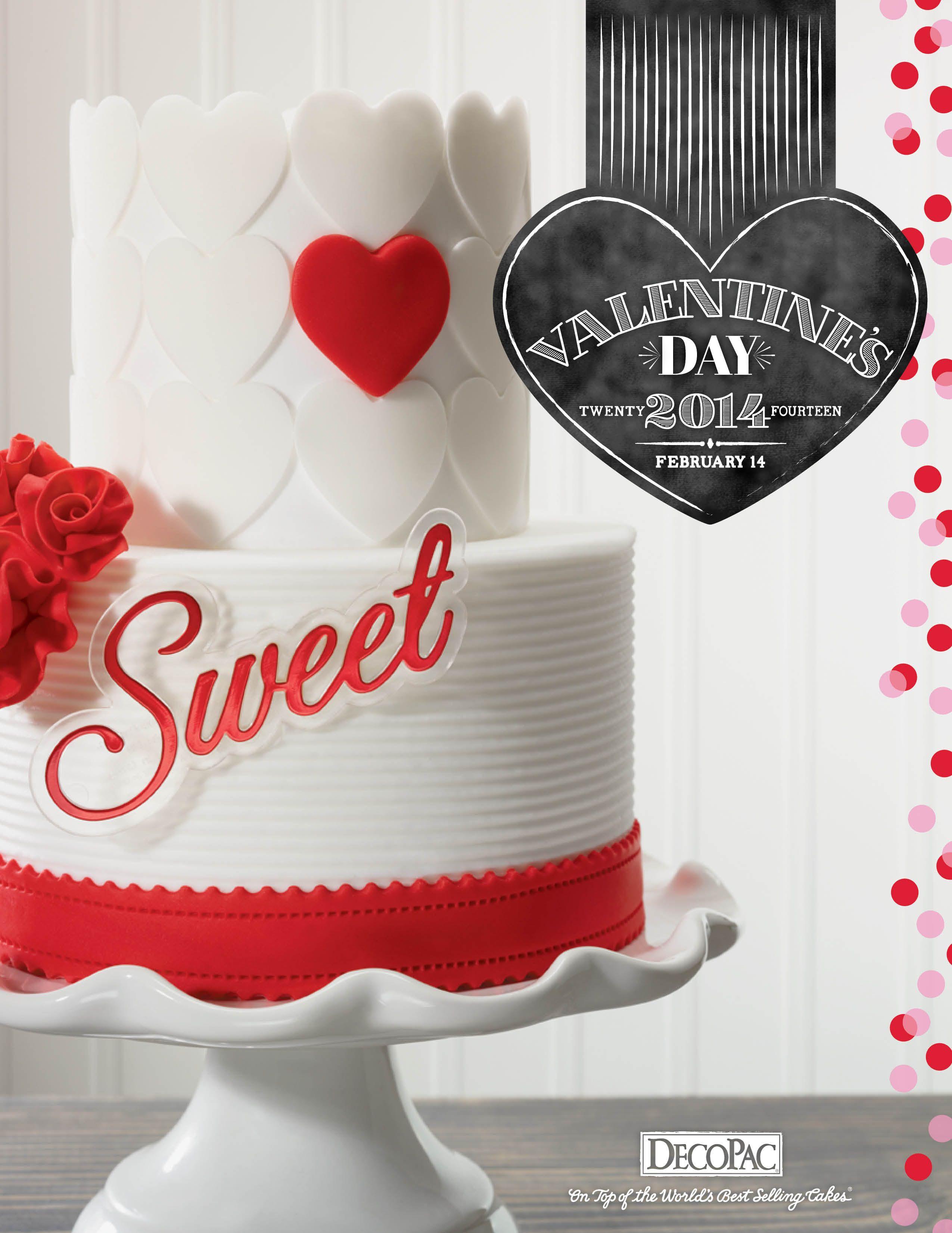 Valentine Cake Flyer Design