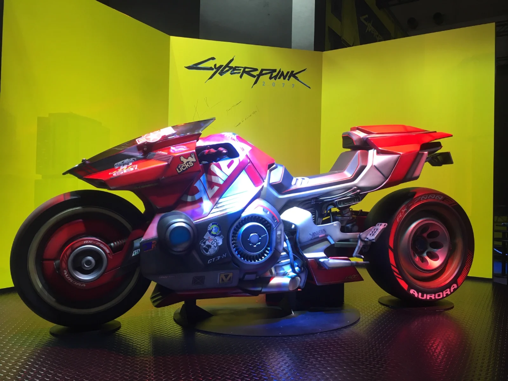 The Motorcycles Of The Tokyo Game Show Cyberpunk Retro Futuristic