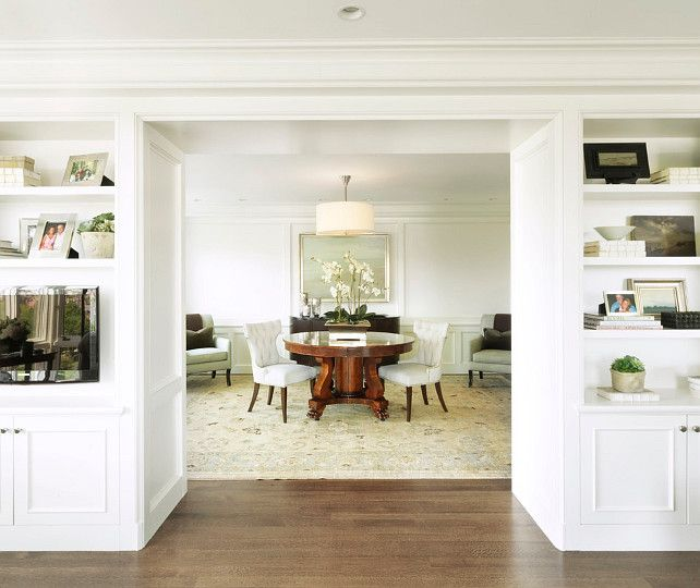 The Best Benjamin Moore Paint Colors: snowfall white oc-118 | The ...