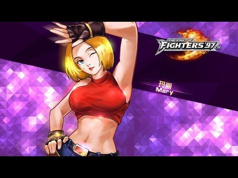 Blue Mary Formulas In The King Of Fighters97 Blue Mary Formulas