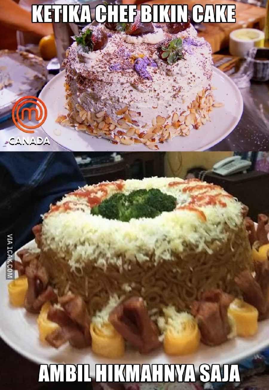 Beda Banget 10 Meme Masakan Orang Biasa Vs Chef Profesional Masakan Koki Master Chef
