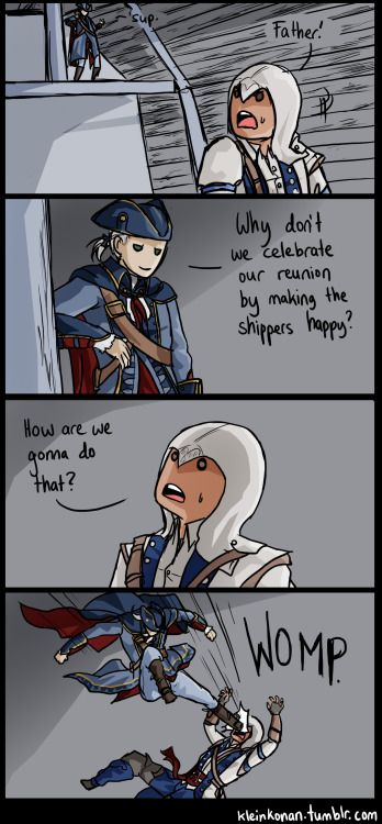 Connor And Haytham Fanfiction I wish there re...