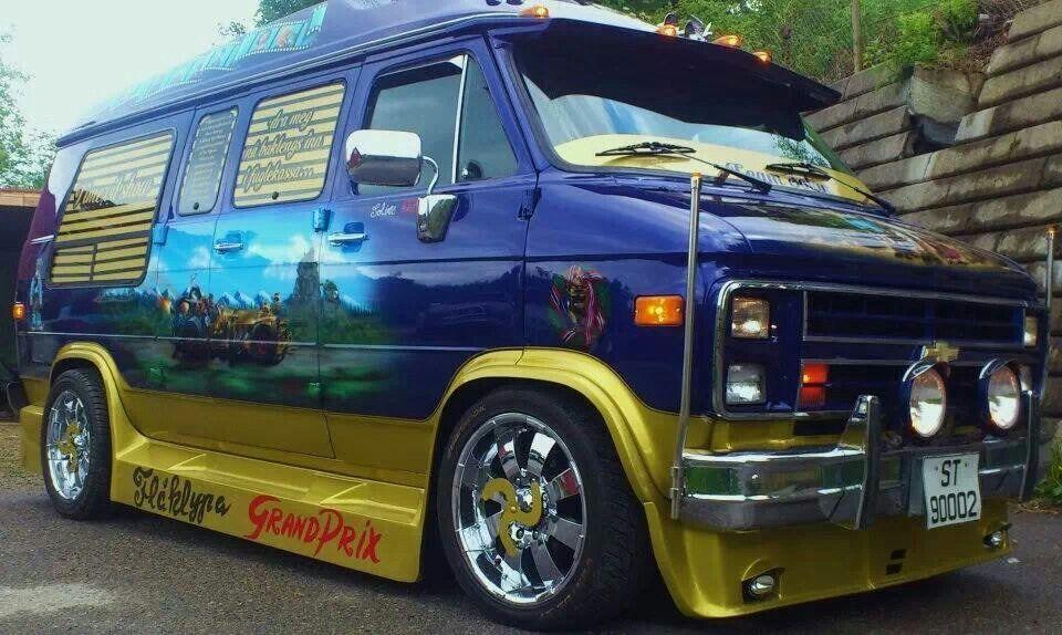 Chevy Van Custom Vans Cool Vans