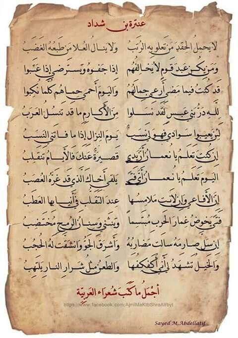 عنتر بن شداد Spirit Quotes Funny Arabic Quotes Islamic Inspirational Quotes