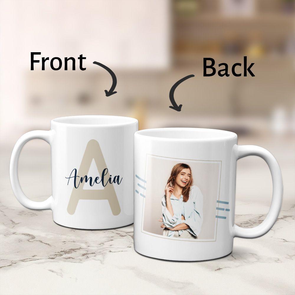 Details about  /Mom Est Custom Baby Shower Gift Baby Shower Mug Mom Coffee Mug Baby