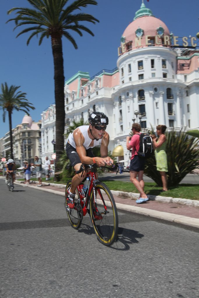 112-mile cycle, IRONMAN Nice, Cote d'Azur