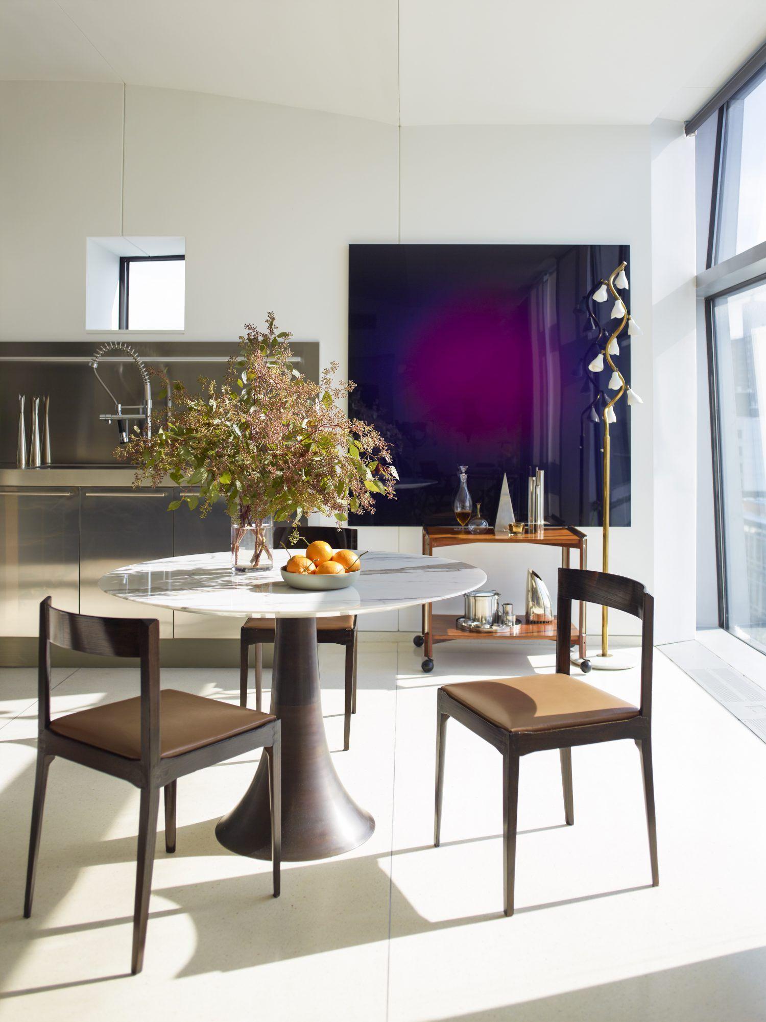 West Chelsea Residence Neal Beckstedt Studio Modern Dining