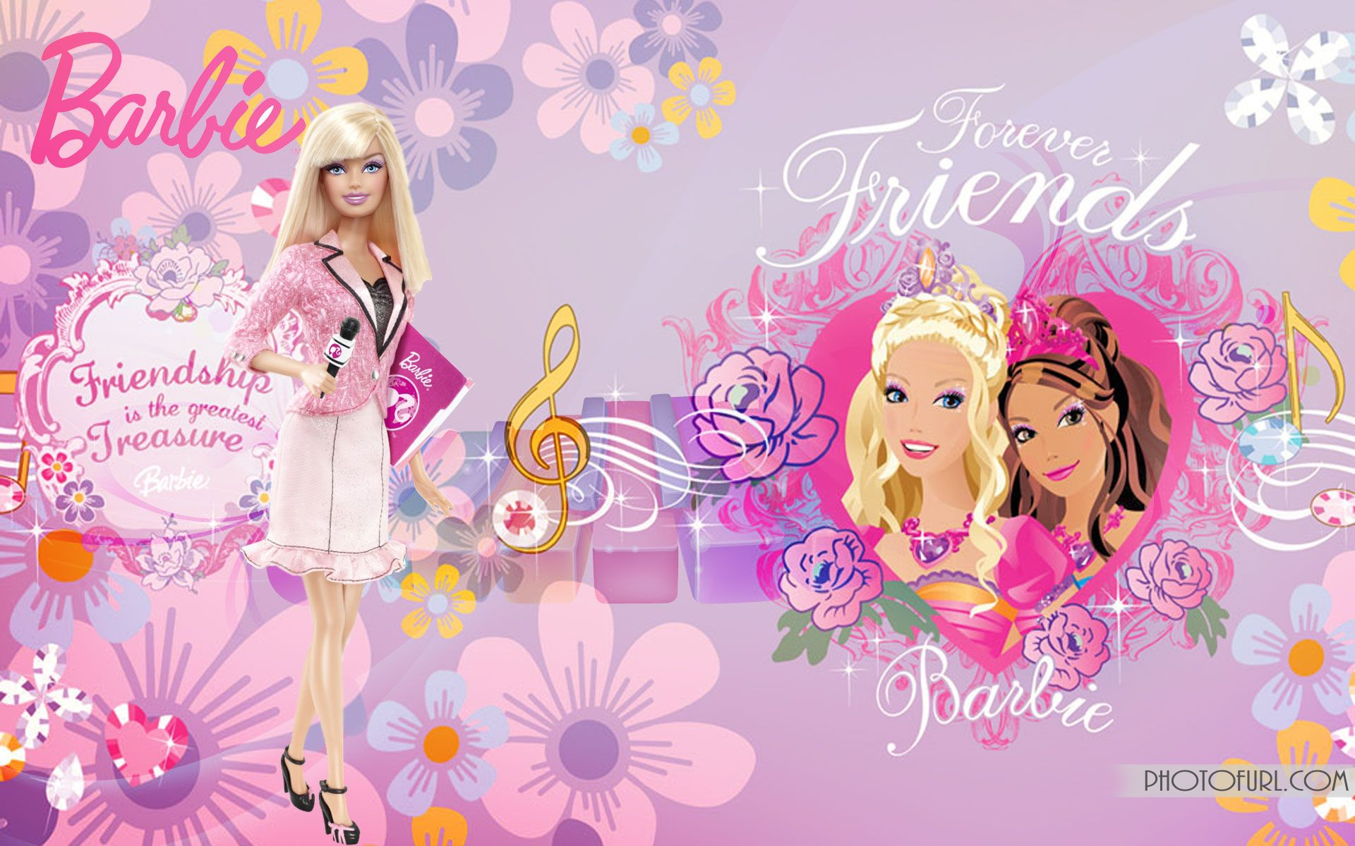 Barbie HD Wallpapers Backgrounds Wallpaper