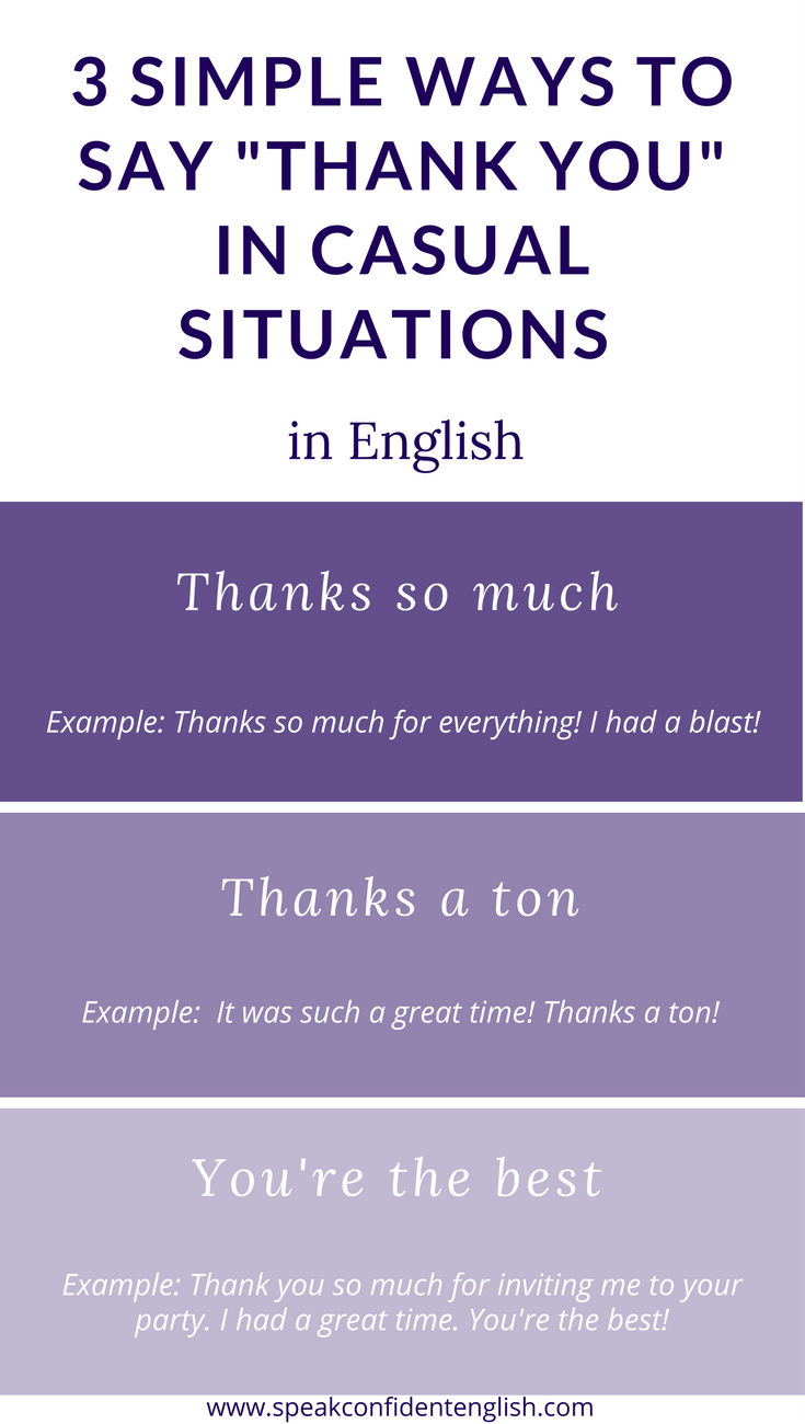 New Expressions to Start Using in Your Daily English – Thank You for Inviting Me to Your Party