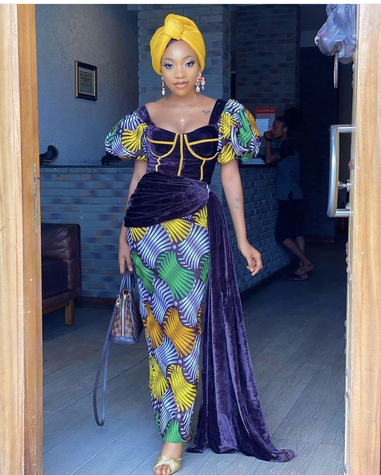 Wedding Guest Ankara Styles 2020 Elegant Design For The African Woman In 2020 African Dresses For Women Unique Ankara Styles African Print Dress Ankara