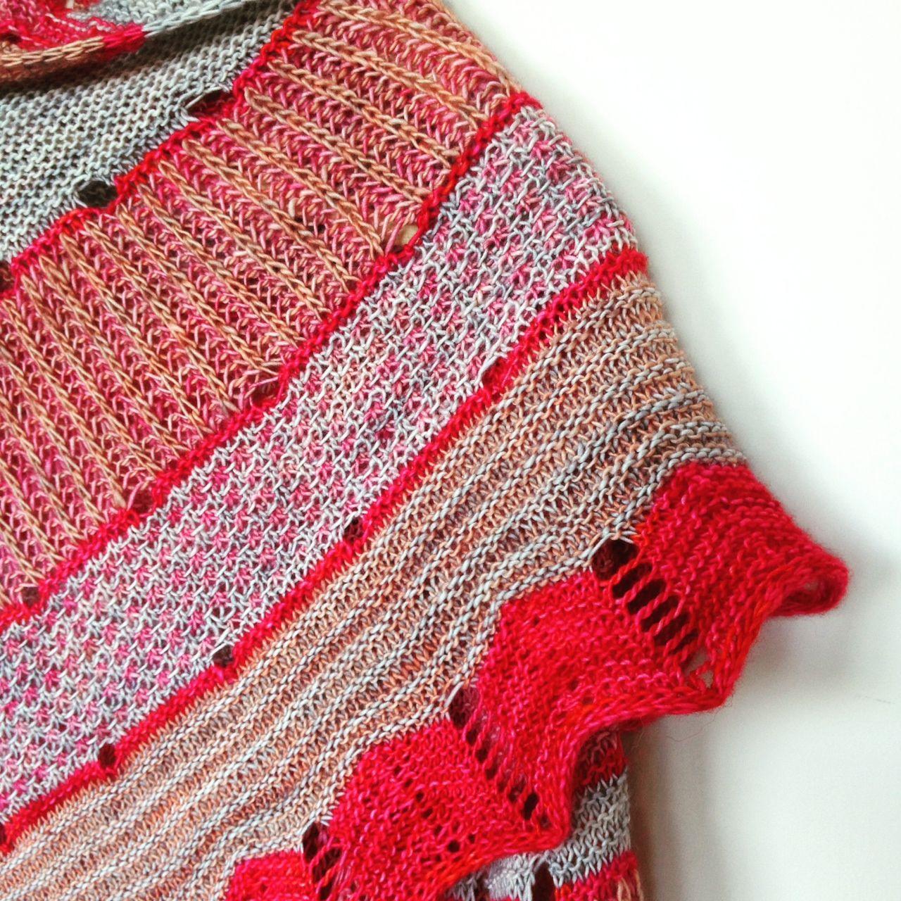 exploration station shawl by stephen west | Knitting | Pinterest
