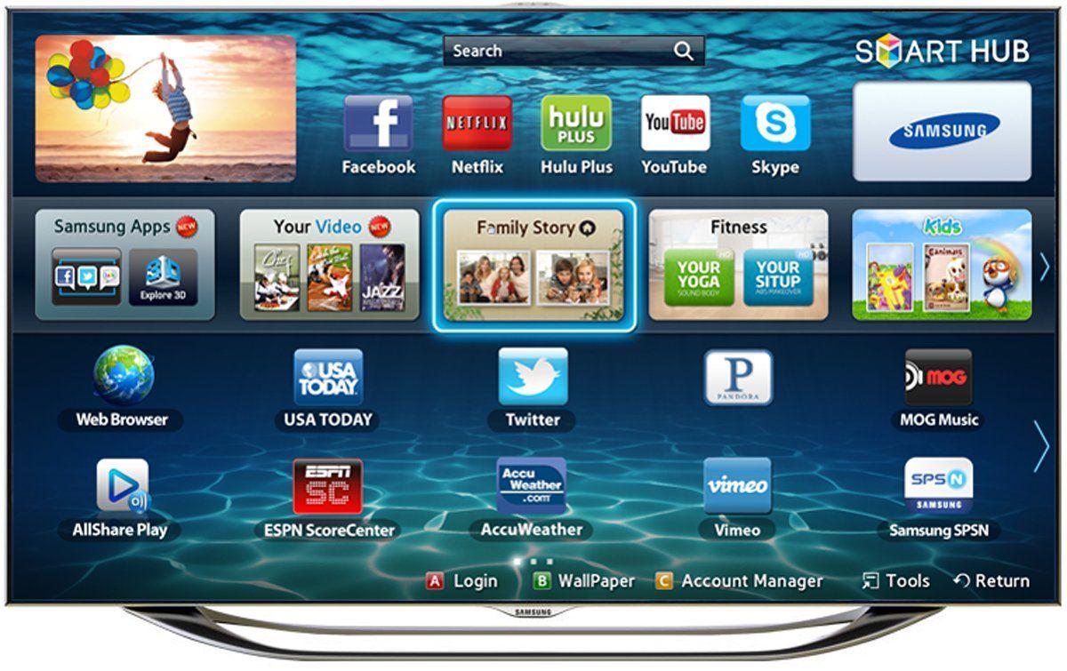 Samsung UN65ES8000 65-Inch 1080p 240Hz 3D Slim LED HDTV (Silver ...