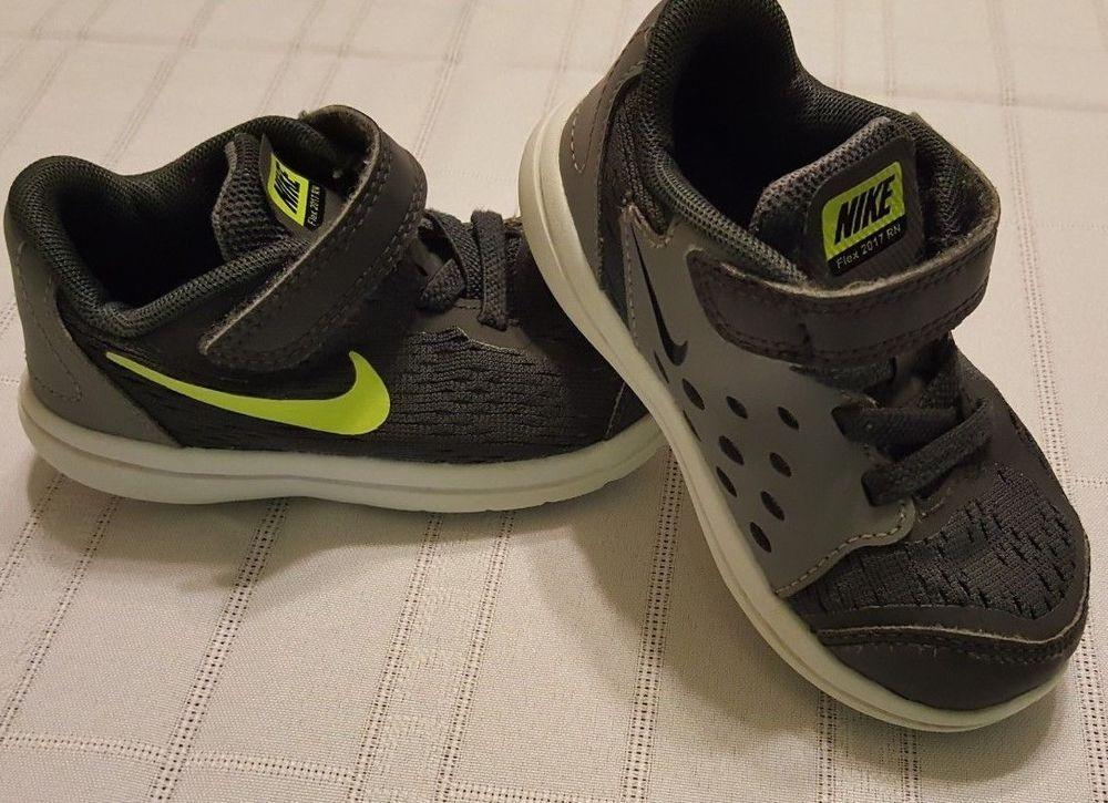 b05864923595 Nike Flex 17 Running shoes Baby Shoes Size 7c Infant boys 7 Gray no ...