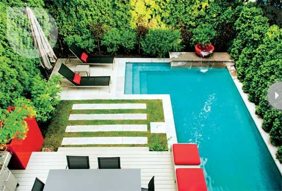 Outdoor decor: Modern outdoor oasis - Style At Home | Someday ...