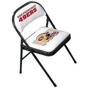 49ers camping chair unique chairs design folding pinterest san francisco
