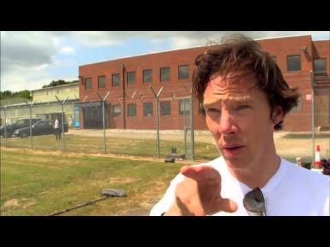 Benedict Cumberbatch behind the scenes on Top Gear
