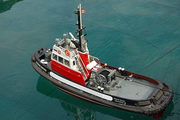 Remote Tugboat Kit Control