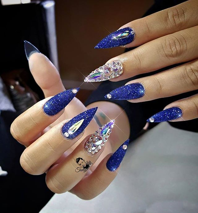 Custom nails design | Cool Nail Art | Pinterest | Nail ...