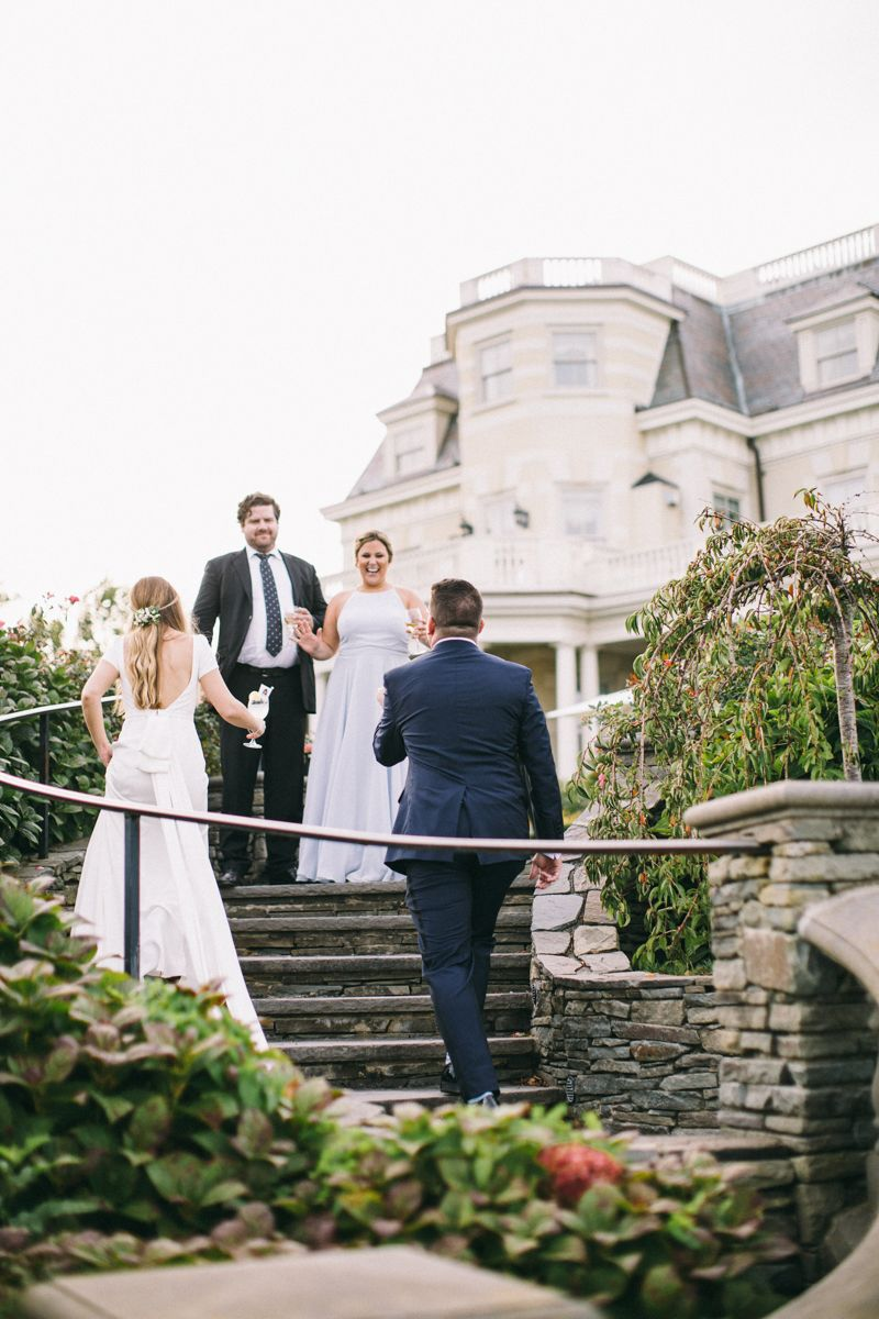 Newport Rhode Island Mansion Wedding The Chanler Kara Mike Rhode Island Mansions Newport Rhode Island Mansion Wedding