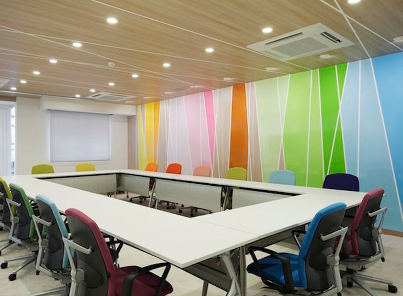 Interior Design Office Space Colors: Emmanuelle Moureaux: Clinical Research Centre At Kyoto
