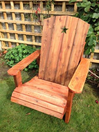 Adirondack Chairs Plans Curved Back New Build Your Own ...