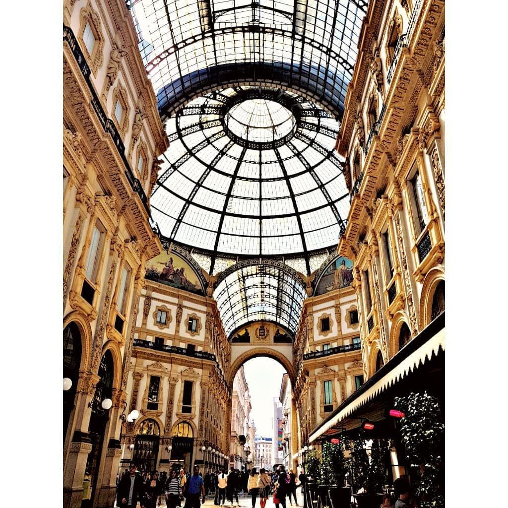 Viktor Emanuel Galerie Galleriavittorioemanuele Die Alteste Einkaufspassage Der Welt In Der Viktor Emanuel Galerie Galleriavitto Mailand Einkaufen Kuppel